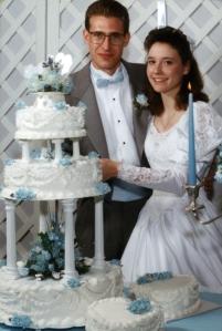 Brett and Tricia November 17, 1990