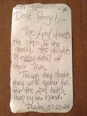 Paper from Amanda